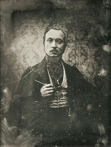 Joseph-Philibert Girault de Prangey (1804-1892) , Autoportrait, 1841
