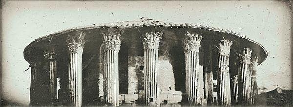 Joseph-Philibert Girault de Prangey (1804-1892) , Rome, Temple de Vesta, 1842