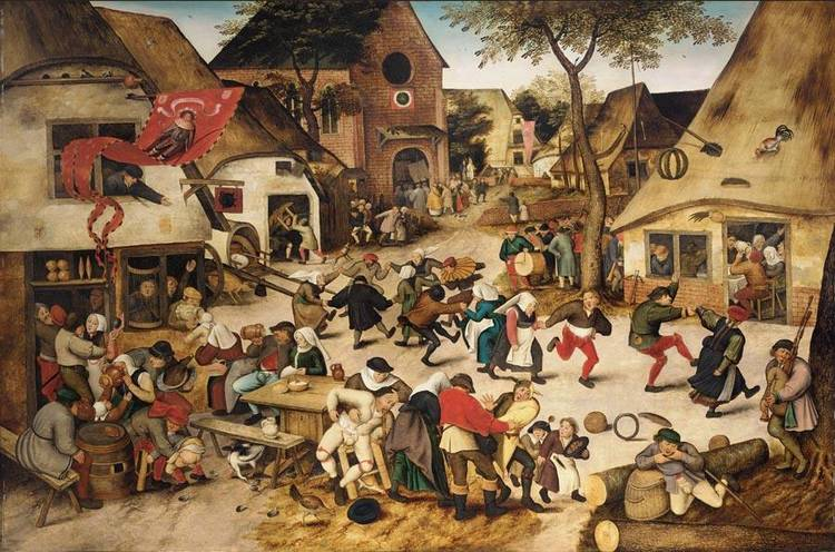 Role Pieter Bruegel The Elders Son Died October 10 1636 Antwerp Belgium Artwork Peasant Wedding Dance Christ And Woman Taken In