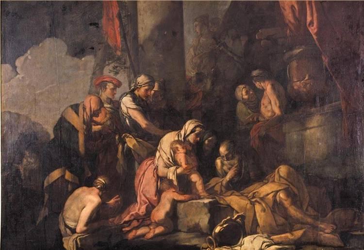 GIULIO CARPIONI VENICE 1613 - 1678