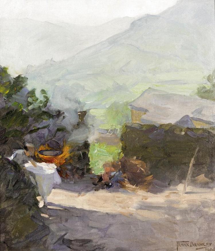 FRANK BRAMLEY, R.A., 1857-1915