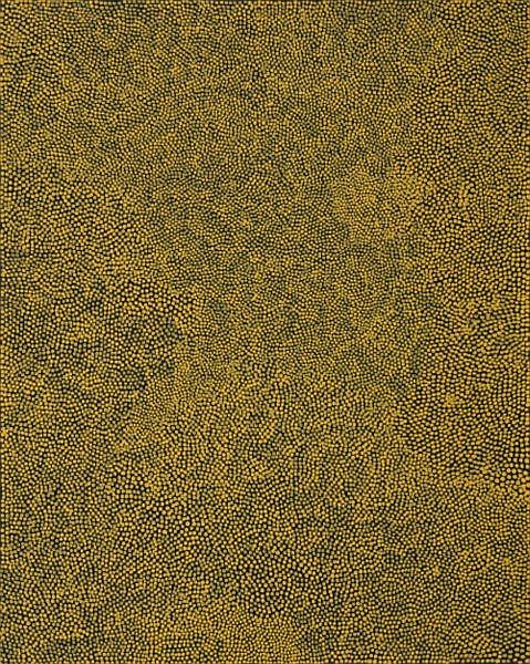 Mick Namarari Tjapaltjarri circa 1926-1998 TJUNGINPA (MOUSE) DREAMING synthetic polymer paint on linen