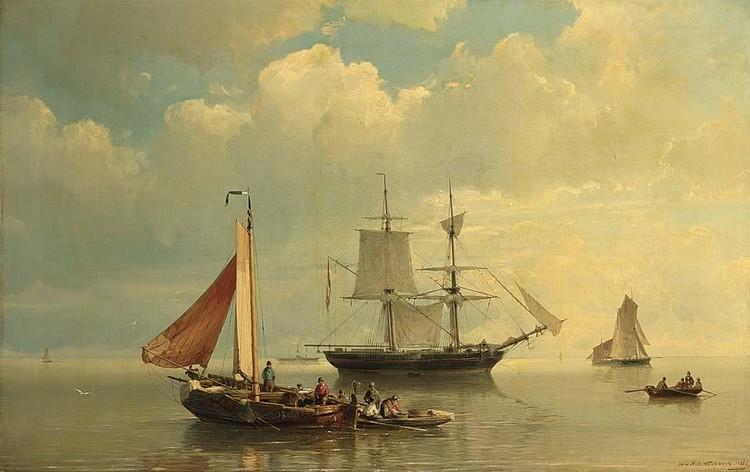 Johannes Herman Barend Koekkoek Works on Sale at Auction ...