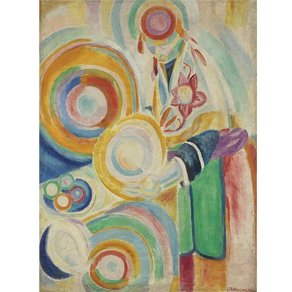 Robert Delaunay , 1885-1941 Portugaise au potiron Oil on linen