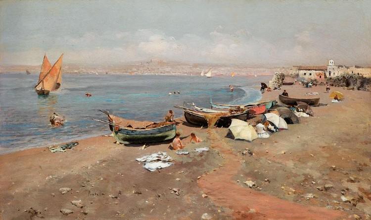 ATTILIO PRATELLA ITALIAN, 1856-1932