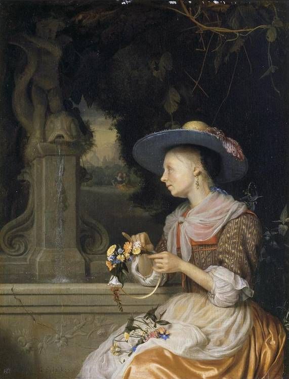 * GODFRIED SCHALCKEN MADE, NEAR BREDA 1643 - 1706 THE HAGUE