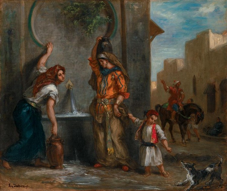 EUGÈNE DELACROIX FRENCH, 1798 - 1863