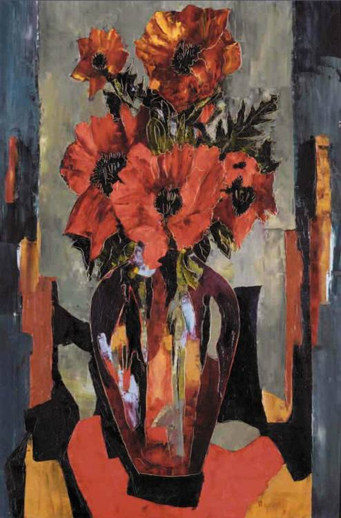 PROPERTY FROM A PRIVATE EUROPEAN COLLECTION f - TONY AGOSTINI, 1916-1990 VASE DE FLEURS