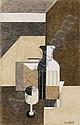 - Amédée Ozenfant , 1886-1966 NATURE MORTE   pastel, fusain et gouache sur papier     , Amedee Ozenfant, Click for value