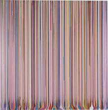 IAN DAVENPORT | Puddle Painting: Pale Lilac (After Carpaccio)