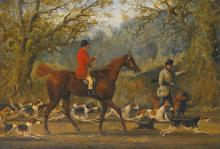 HENRY THOMAS ALKEN SNR. | Setting off for the day's sport