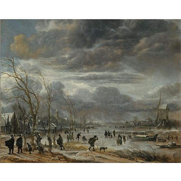Aert van der Neer , Amsterdam circa 1603/4 - 1677 