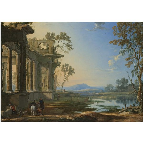 - Pierre Patel the Elder , Picardy circa 1605 - 1676 Paris 