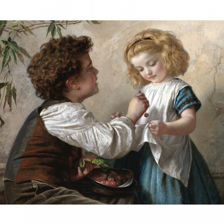 SOPHIE ANDERSON 1823-1903