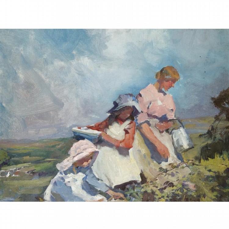 ELIZABETH ADELA STANHOPE FORBES 1859-1912