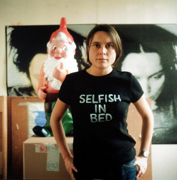 SARAH LUCAS, B. 1962 SELFISH IN BED II