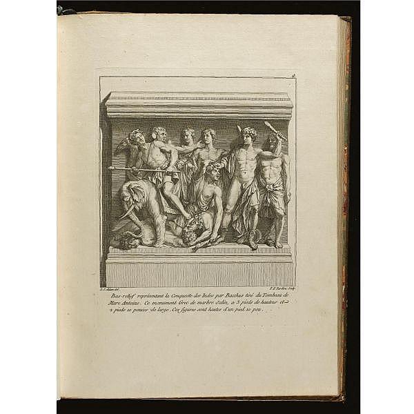 Adam, Lambert Sigisbert (1700-1759), l'aîné. , Recueil de sculptures antiques greques et romaines. Paris: Daumont, [1754]