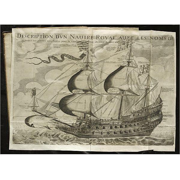 Fournier, Georges (1595-1652), S.J. , Hydrographie, contenant la théorie et la practique de toutes les parties de la navigation. Paris: Michel Soly, 1643