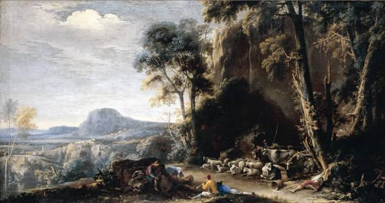 f - SALVATOR ROSA ARENELLA, NAPLES 1615 - 1673 ROME