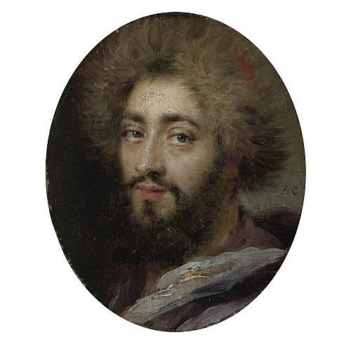 Antoine Coypel Paris 1661 - 1722 , Portrait of Mohammed Reza Bey, Persian Ambassador to France, during the Reign of Louis XIV