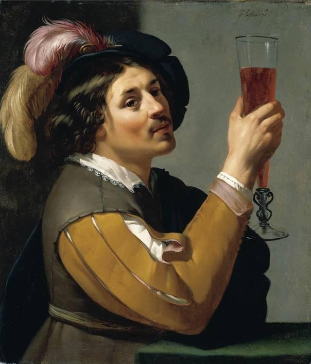 f - JAN VAN BIJLERT UTRECHT 1597/8 - 1671