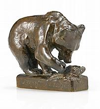 EDWIN WILLARD DEMING, 1860 - 1942 | Bear and Tortoise