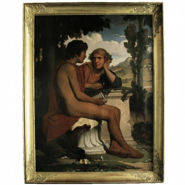 DOMINIQUE LOUIS PAPETY 1815-1849 DAPHNIS ET CHLOE