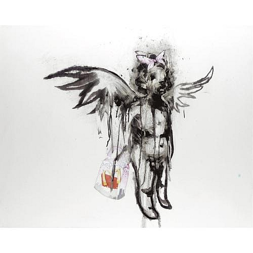 m - Antony Micallef, B. 1975 , HOBO ANGEL: MCDONALD'S