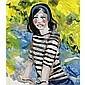 m - Stella Vine, B. 1969 , ELLENOR STRIPY TOP