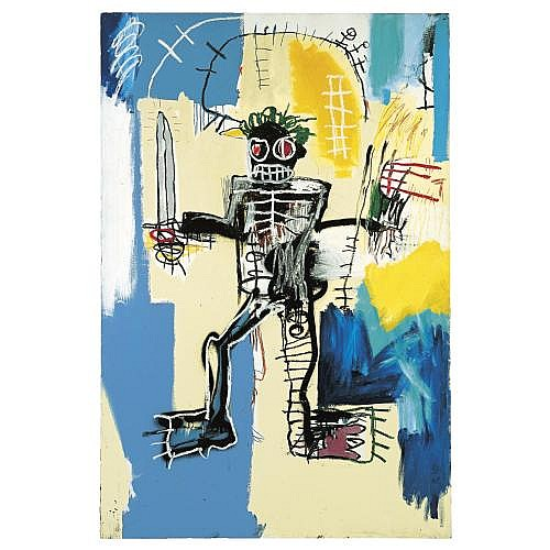 Jean-Michel Basquiat , Warrior
