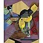 Juan Gris , 1887-1927 Guitare Oil and papier collé on canvas   , Juan Gris, Click for value