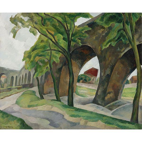 Diego Rivera (1886-1957) , Acueducto