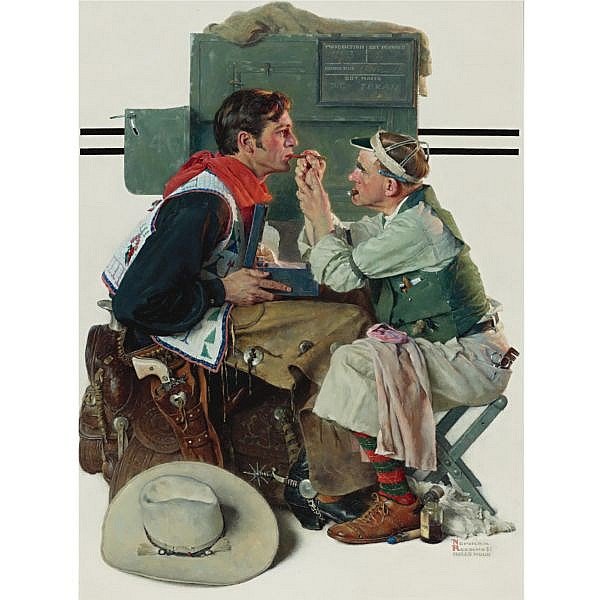 Norman Rockwell 1894-1978 , Gary Cooper as