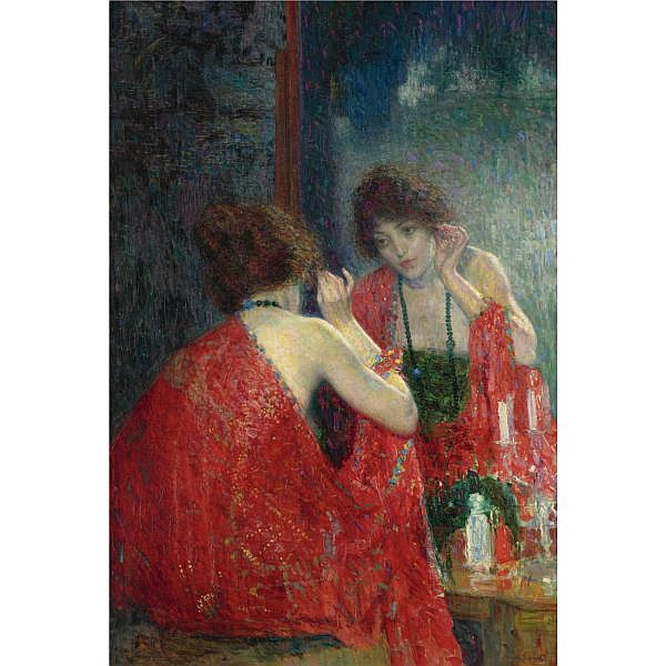 Hovsep Pushman 1877-1966 , Narcissa oil on canvas