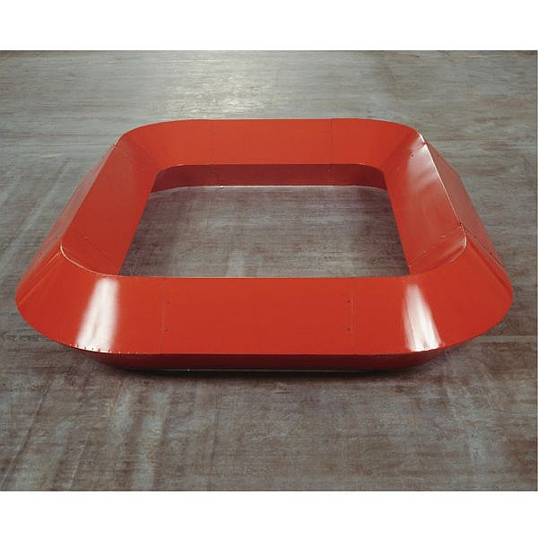 - Donald Judd , 1928-1994 Untitled   light cadmium red enamel on galvanized iron