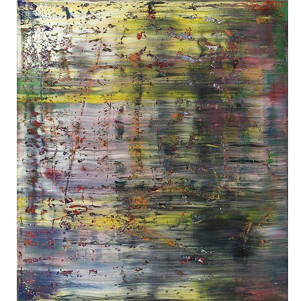 Gerhard Richter , b. 1932 Abstraktes Bild oil on canvas