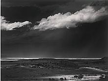 ANSEL ADAMS | 'Storm over the Great Plains from Cimarron, New Mexico', 1960
