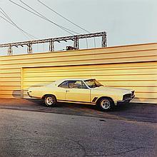 WILLIAM EGGLESTON | 'Untitled (Yellow Car)', 1976