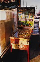 WILLIAM EGGLESTON | 'Flipper, Pin Ball Machine', 1980