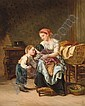 PROPERTY OF A BRITISH PRIVATE COLLECTOR THÉOPHILE EMMANUEL DUVERGER FRENCH, 1821-1886 L'AMOUR, Theophile-Emmanuel Duverger, Click for value
