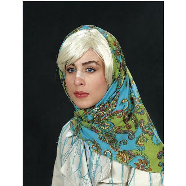 - Shirin Aliabadi , Iranian B. 1973 Miss Hybrid 1 ink jet print