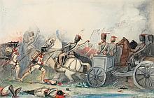 SIR JOHN EVERETT MILLAIS, P.R.A. | In the Midst of Battle