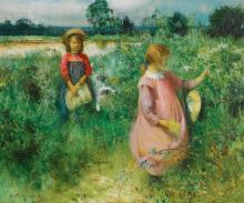 ARTHUR HACKER | Picking Wildflowers