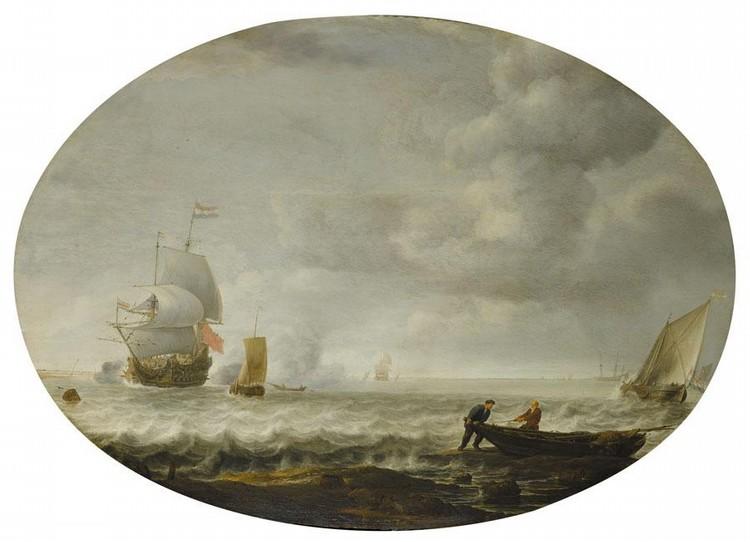 SIMON JACOBSZ. DE VLIEGER ROTTERDAM CIRCA 1600/1 - 1653 WEESP