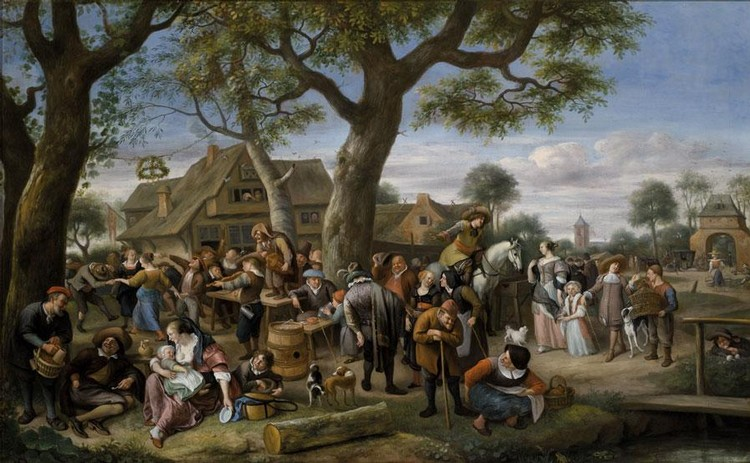 f - JAN HAVICKSZ. STEEN LEIDEN 1626 - 1679