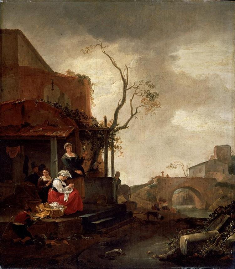 THOMAS WYCK BEVERWIJK OR HAARLEM CIRCA 1616 - 1677 HAARLEM