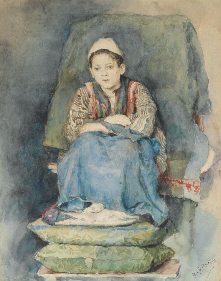VASILI IVANOVICH SURIKOV, 1848-1916