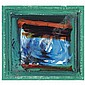 - Howard Hodgkin , b. 1932 Ekow oil on board