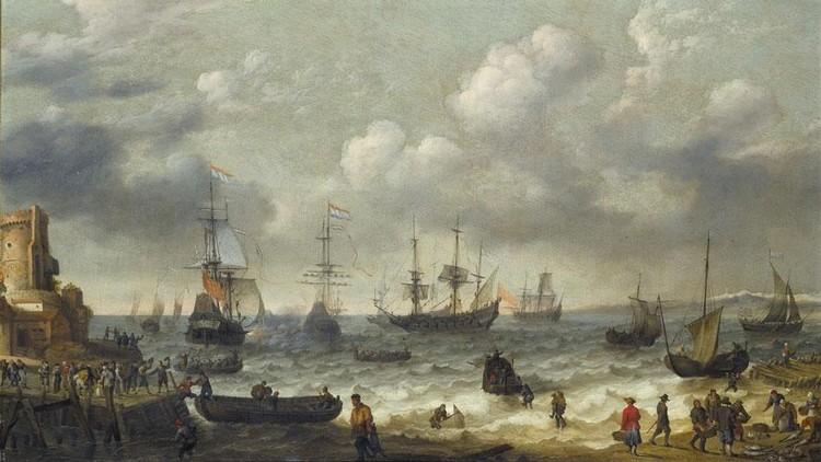 ABRAHAM WILLAERTS UTRECHT CIRCA 1603 - 1669