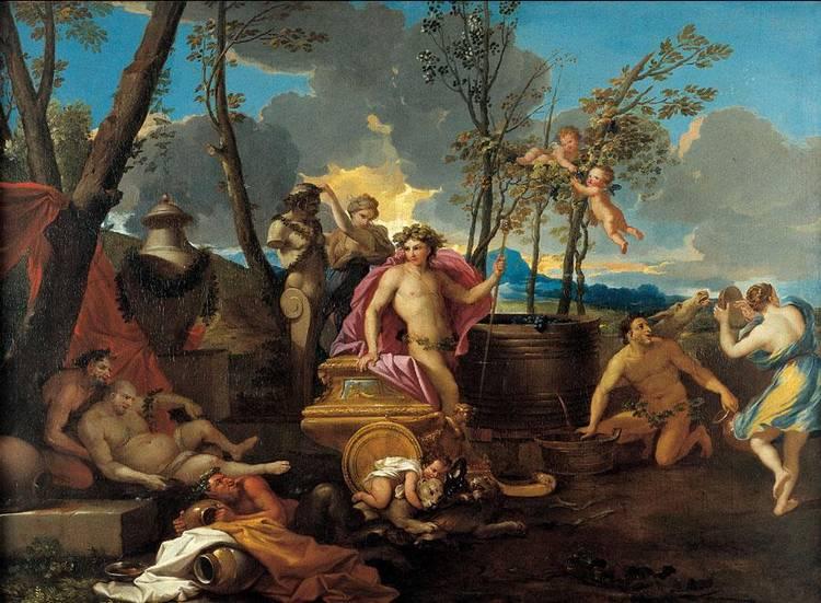 CERCHIA DI NICOLAS POUSSIN LES ANDELYS 1594-1665 ROMA